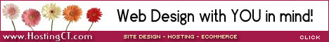 click to visit Hosting Connecticut, LLC for your Design, Hosting and Ecommerce needs.